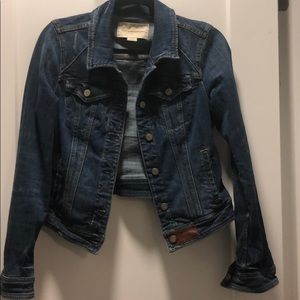 Anthropologie (Pilcro) distressed denim jacket